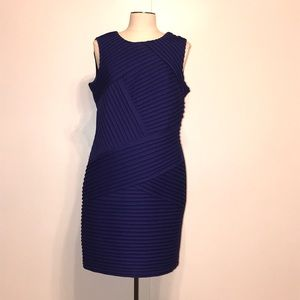 Calvin Klein Dress with pleated front design